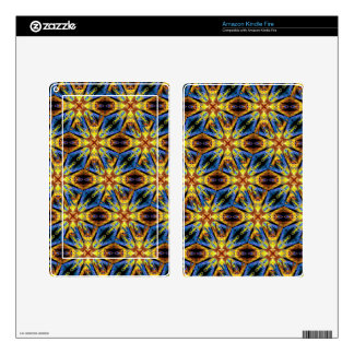 Vibrant Medieval Check Skin For Kindle Fire