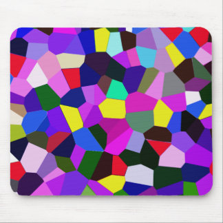 Vibrant Multi color Mousepad