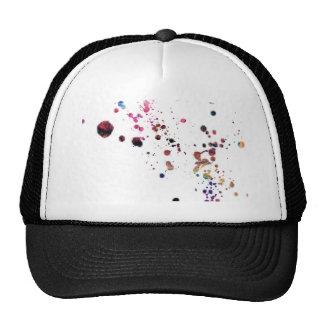 Vibrant Multi-Colored Splashes Dancing Across... Trucker Hat
