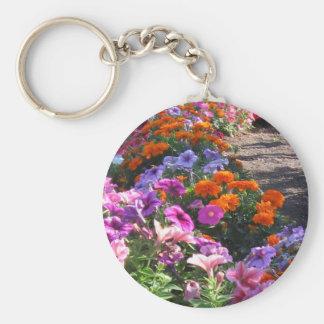 Vibrant nature keychain