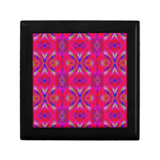 Vibrant Neon Hot Pink Chic Pattern Gift Box