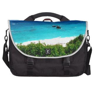 vibrant ocean water sky beauty laptop computer bag