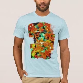 Vibrant Orange Bougainvillea Flowers T-Shirt