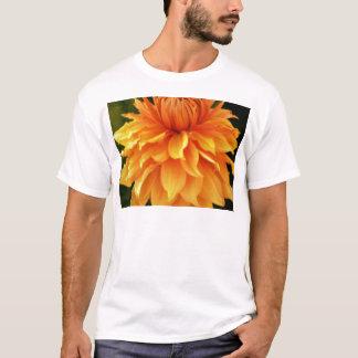 vibrant orange dahlia flower T-Shirt