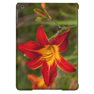 Vibrant orange Lily flower iPad Air Cover