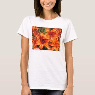 Vibrant Orange Tiger Lilies T-Shirt