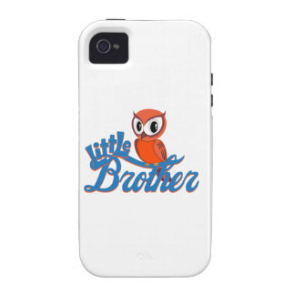 Vibrant Owl Little Brother Case-Mate iPhone 4 Case