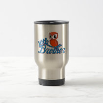 Vibrant Owl Little Brother Travel Mug