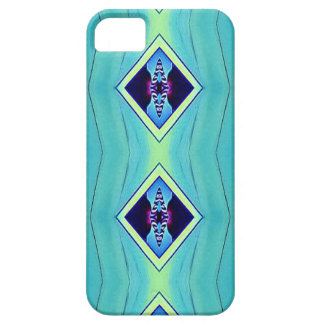 Vibrant Pastel Artistic Geometric Pattern iPhone SE/5/5s Case