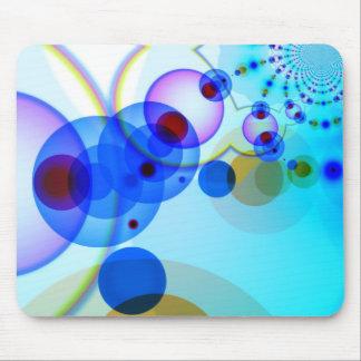Vibrant pattern- Bluish Tinge ! Mouse Pad
