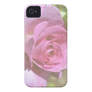 Vibrant Pink Rose iPhone 4 Case