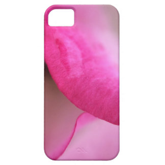 Vibrant pink rose petal phone case cover