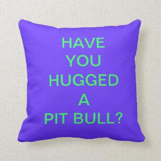 Vibrant (PIT BULL) Pillow