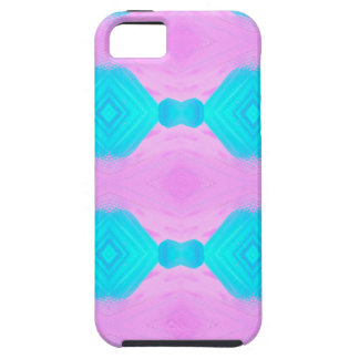 Vibrant Pop Culture Pink Blue Pastels Patterns iPhone SE/5/5s Case