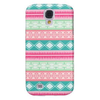 Vibrant Pretty Aztec Pattern Samsung Galaxy Case