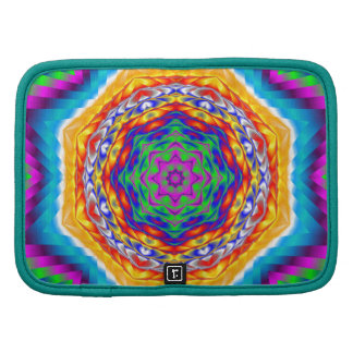 Vibrant Psychedelic Kaleidoscope Star Planners