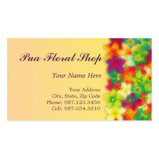 vibrant pua ~ bc Double-Sided standard business cards (Pack of 100)