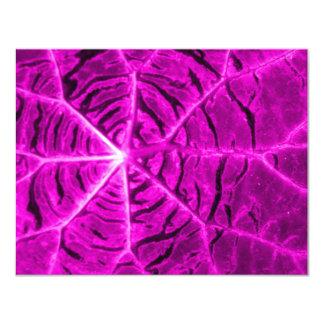 Vibrant purple custom announcement