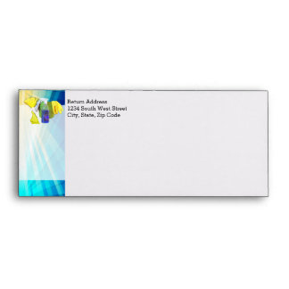 Vibrant Rays Custom Cleaning Service Business Envelope