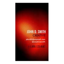 minimalistic, vibrant, bright, young, lively, creative, designer, unique, halftone, corporate, Business Card with custom graphic design