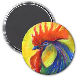 Vibrant Rooster products Svetlana Novikova 3 Inch Round Magnet