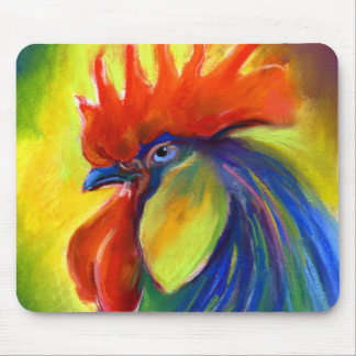 Vibrant Rooster products Svetlana Novikova Mouse Pad