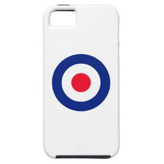 Vibrant Roundel MOD Classic Target iPhone SE/5/5s Case