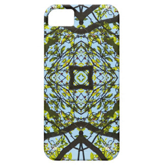 Vibrant Sky Through Trees Abstract Pattern iPhone SE/5/5s Case