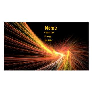 Vibrant Spark Business Card
