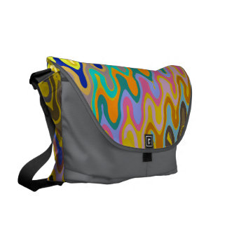 Vibrant Splurge! Courier Bag