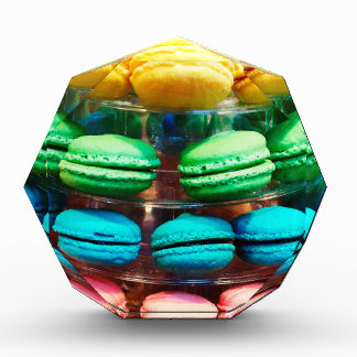Vibrant Stacked French Macaron Cookies Award