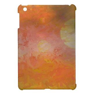 Vibrant Sun Abstract Landscape iPad Mini Case
