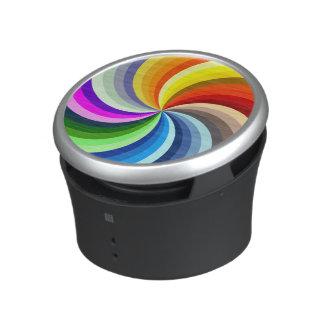 Vibrant Swirls Speaker