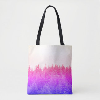 Vibrant Trees Tote Bag