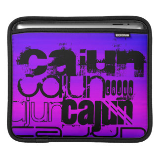 Vibrant Violet Blue and Magenta Sleeve For iPads