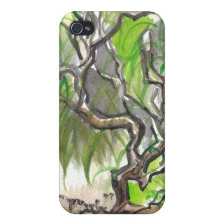 Vibrant Willow Tree iPhone Case iPhone 4/4S Cases