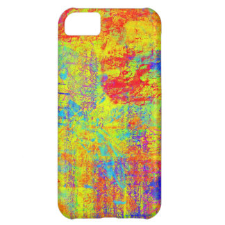 Vibrant Yellow Abstract Art iPhone 5C Cover