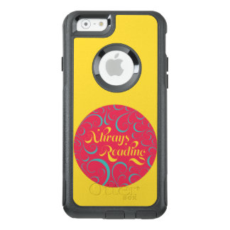 Vibrant Yellow, Pink Bookish Always Reading OtterBox iPhone 6/6s Case