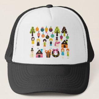 VibrantChristmas1 Trucker Hat