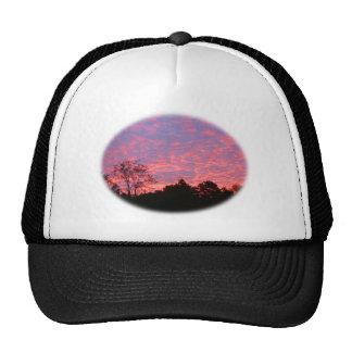 Vibrantly Pink Sunrise Trucker Hat