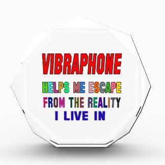 Vibraphone Helps Me Acrylic Award