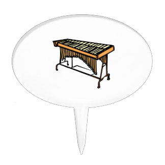 vibraphone simple instrument design.png cake topper