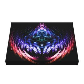 Vibrating Color Fractal Canvas Print