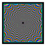 Vibrating Colors Convergence Poster