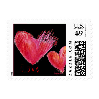 Vibrating Love Energy Hearts Small pos days Postage