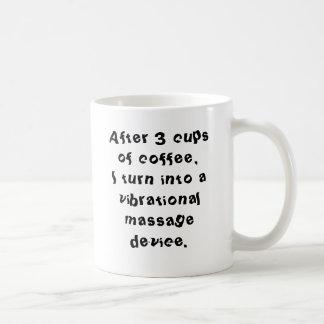 Vibrational Massage Device Coffee Mug