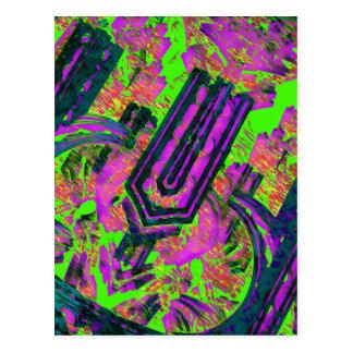 Vibrational Tong U Postcard