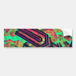 Vibrational Tongs Bumper Sticker