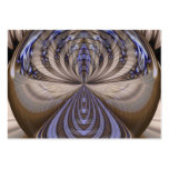 Vibrations Abstract - Artist Trading Card ACEO Business Card Template