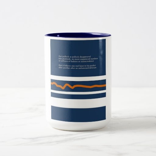 """Vibrations After The Oval"" Mug"